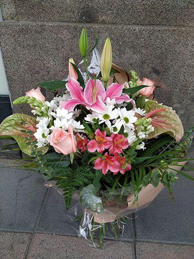 Ramo flores Cristina