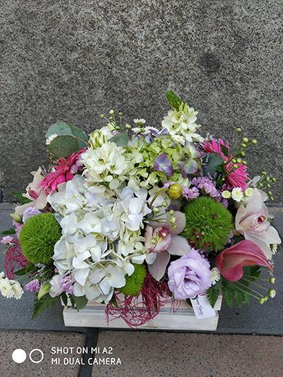 Caja de flores Andrea