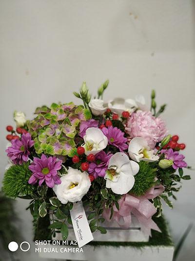 Caja de flores Petit