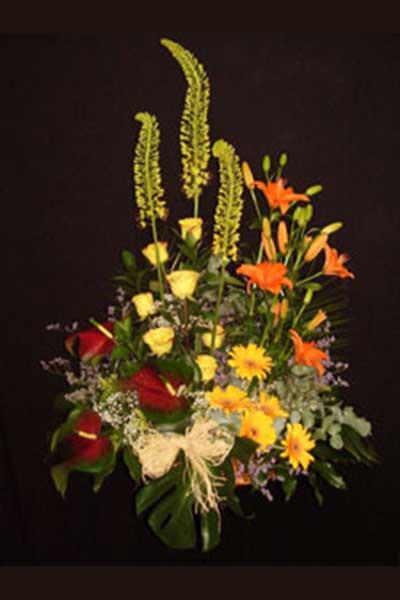 Centro flores Juan