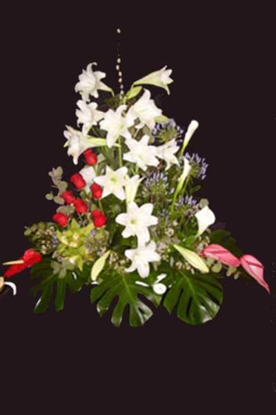 Centro flores Lilium