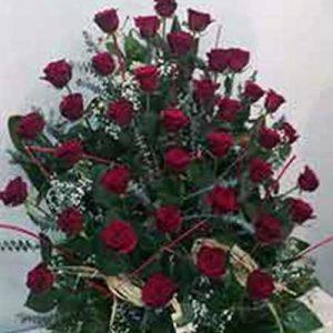 Centro funerario rosas