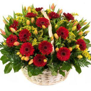 Cesta flor Raphael