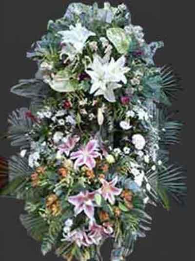 Corona Lilium-Anturium
