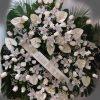Corona de orquideas