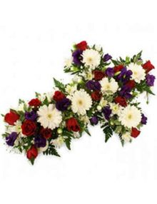 Cruz flor variada