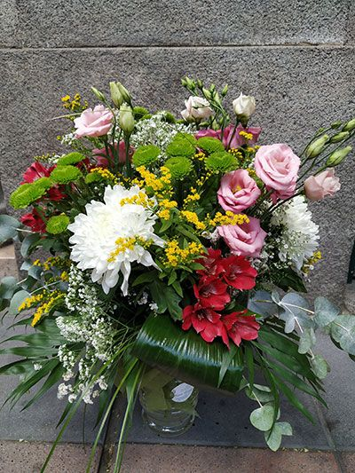 Jarrón floral Alcala
