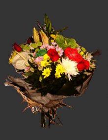 Ramo rosas Antorium Ainara Floristas
