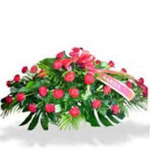 Almohadón de rosas