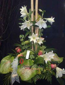 Centro flor Ainara