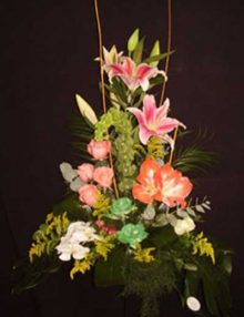 Centro nacimiento diseño Ainara floristas