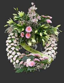 Corona flor deluxe