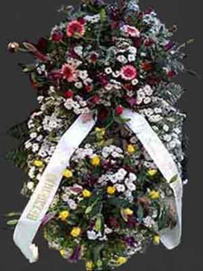 Corona flor estilo