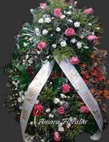Corona flor natural. Ainara Floristas