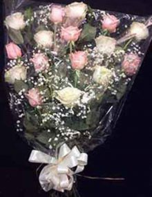 Ramo funerario rosas