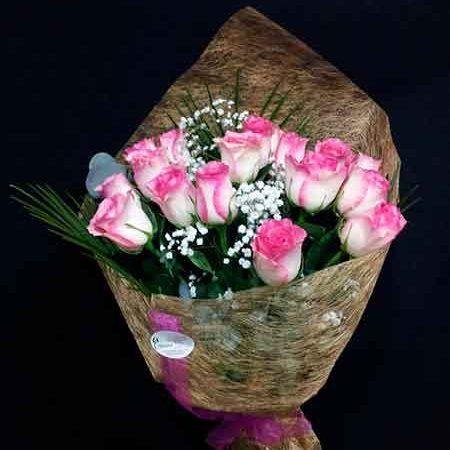 12 Rosas rosa