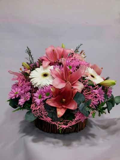 Centro flores Rosita