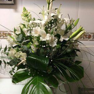 Ramo flores blanco