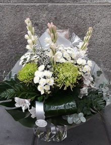 Bouquet Blanco-verde