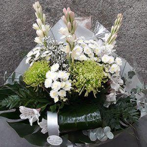 Bouquet Blanco-verde