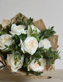 Bouquet rosas Rustic