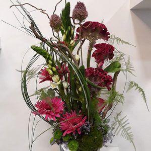 Centro flor Desing