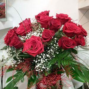 Jarron de rosas amor mio