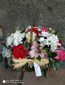 Cesta de flores Santa Elena