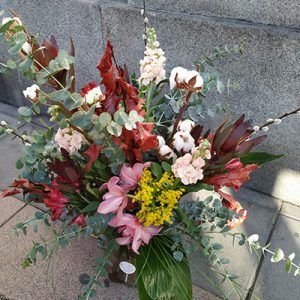 Jarrón floral Goya