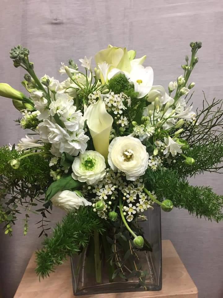 Jarrón floral Nieves
