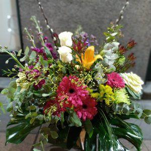 Jarrón floral Rosario